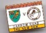 v Norwich match badge (no date)