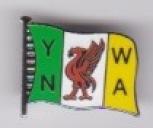 YNWA Flag Green / Yellow