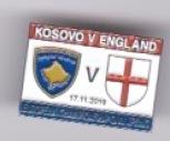 England - v Kosovo Away 2019 EURO 2020 QU