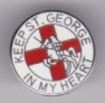 Keep St. George in my Heart - Small Round