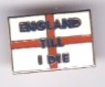 England  Till I Die - Small St. George
