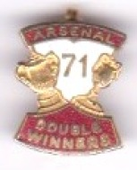 Arsenal - Double Winners 71 - Coffer