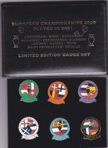 England Match Badges - EURO 2020 Box set