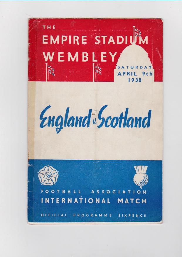 England v Scotland 1938