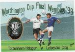 Postcard - 1999 LCF v Leicester