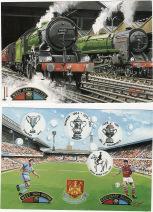 Postcards - Centenary & train (2)