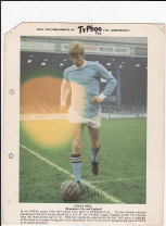 Typhoo card Colin Bell