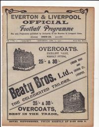 Liverpool v Arsenal - 1909/1910