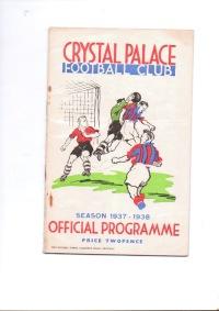 Crystal Palace v Cardiff City - 1937/1938