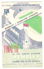 Burnley v Charlton - 1946/1947