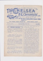 Chelsea v Southampton - 1914/1915
