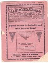 Fulham v Arsenal - 1913/1914