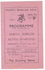 North Shields v Blyth Spartans - 1951/1952