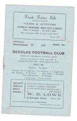 Beccles v Yarmouth - 1955/1956