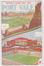 Port Vale v Plymouth - 1954/1955