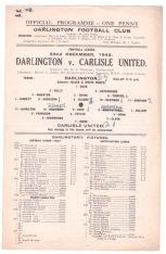 Darlington v Carlisle United - 1945/1946